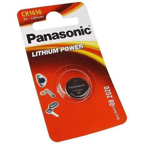 Panasonic pile bouton lithium 3 v cR1616 dL1616 bR1616 kCR1616 lM1616 équivalent