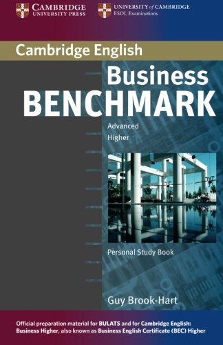 Business Benchmark Advanced Personal Study Book for BEC and BULATS por Guy Brook-Hart