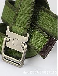 AQAQ Hombre Poliéster Cinturón De Cintura Casual Todas Las Temporadas , Army Green , One-Size