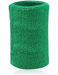 Hoter–6pulgadas, de grosor pulsera/muñequeras para tenis y otros deportes, Precio/Piece, verde