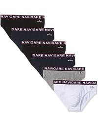Navigare 324, Slip Uomo, Pacco Da 6