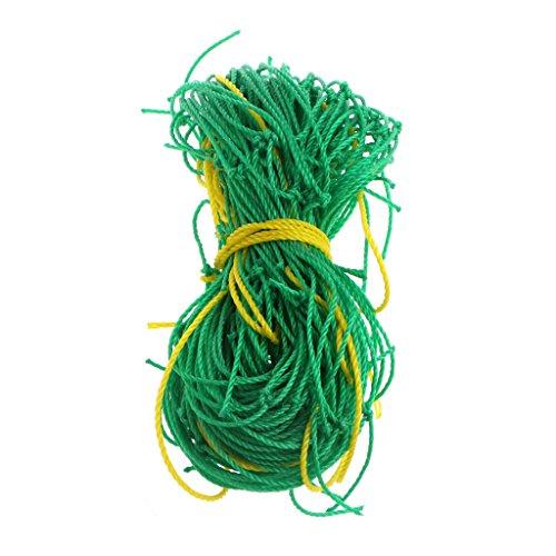 Jiamins Garten-Gitter Netz Nylon Klettern bean Pflanze Netze wachsen Zaun Rebe und Veggie Spalier Net, grün