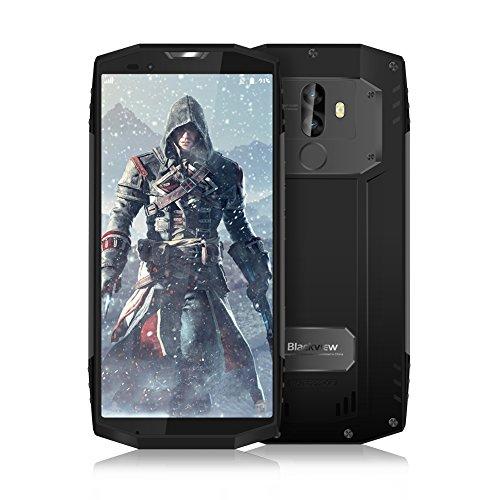 Robustes Smartphone, Blackview BV9000 Dual-Sim Smartphone (5.7 Zoll), IP68 Wasserdicht, 64GB interner Speicher, 4GB RAM, 16MP Plus 8MP Kamera, 4180mAh Batterie, NFC/Compass/GPS (Grau)