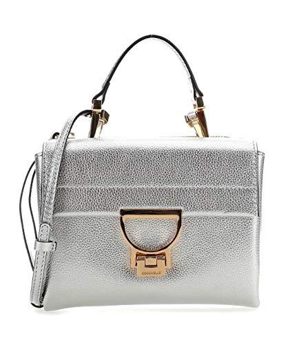 Coccinelle Arlettis Small Handbag Silver
