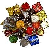 Sshakuntlay® Christmas Tree Ball, Xmas Party, Wedding Hanging Ornament Christmas Decoration (Pack Of 70 Items)