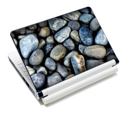 Luxburg® Design Aufkleber Schutzfolie Skin Sticker für Notebook Laptop 10 / 12 / 13 / 14 / 15 Zoll, Motiv: Geröll - Design Notebook Skin