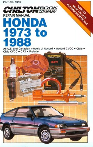 Honda 1973-88 (Part No. 6980) - 88 Honda Civic