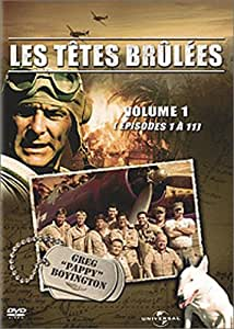 Les Têtes brûlées, Vol. 1 - Coffret 4 DVD