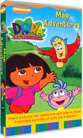 Dora l'exploratrice, Vol.1 : Suivez la carte