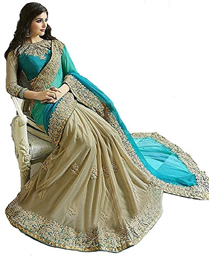 Saree(FabDiamond Sarees For Women Party Wear Half Sarees Offer Designer Below 500...