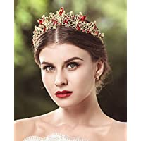 Jovono wedding corone e diademi principessa cristallo party accessori per  capelli per donne 36606fb6577a