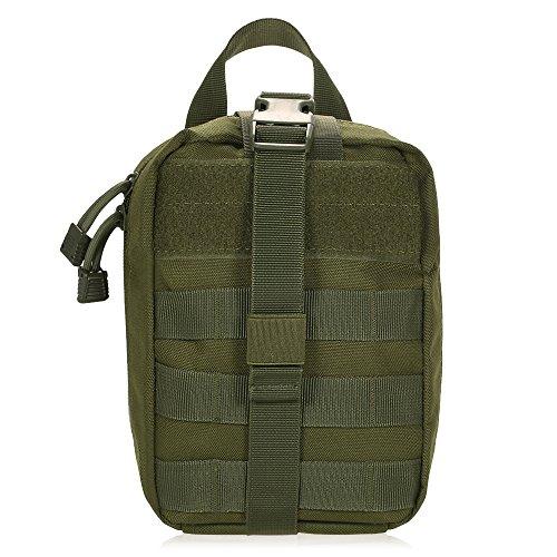 Lixada Multifunktions Medizinische Tasche Molle Taktische Erste Hilfe Tasche Notfalltasche für Outdoor Zuhause Reisen - Tourniquet Erste Hilfe