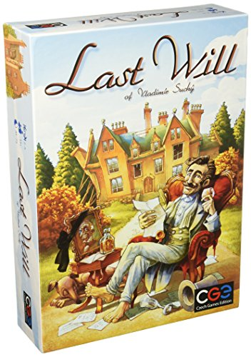 Czech Games Edition cge00016 Last Will Junta Juego