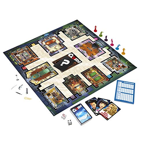 Zoom IMG-3 hasbro gaming cluedo gioco in