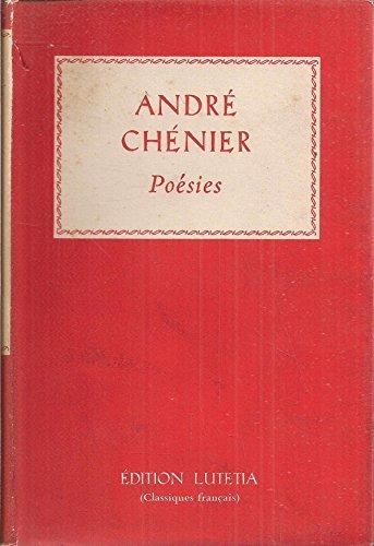Chenier; Poesies