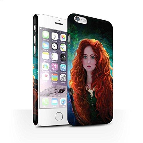 Officiel Elena Dudina Coque / Clipser Matte Etui pour Apple iPhone 6 / Pack 5pcs Design / Caractère Conte Fées Collection Princesse