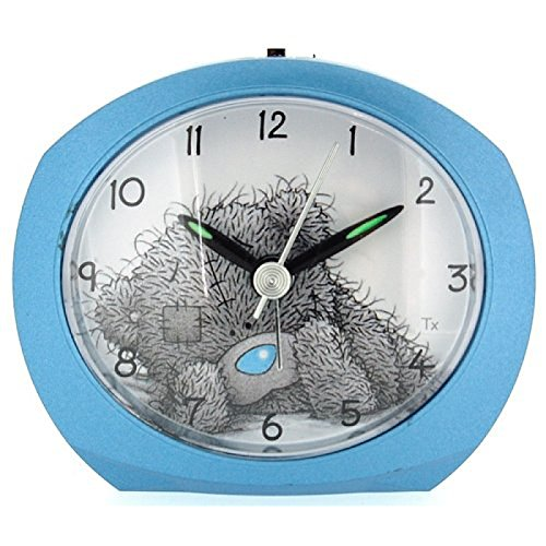 ME TO YOU MTYCLK15A BlueTatty Teddy-Wecker (Mit Wecker Minutenzeiger)