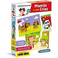 Clementoni - Mamás y sus crías, juego educativo (65593.9)