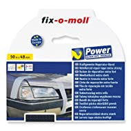 fix-o-moll Power-Band premium 50 m x 48 mm selbstklebend schwarz, 3563101