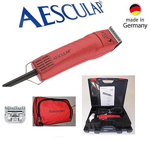 Rosso schopf24Edition: Aesculap TOSATRICE favo Rita 2(gt104) + 3Kit di taglio mm. MADE IN GERMANY. + tasche.