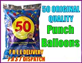50 Luftballons, Boxsack, hochwertig, Party Kinder Geburtstag Party-Tüte für Fair