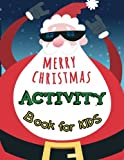 Best Books For Kids Age 3s - Merry Christmas Activity Book For Kids: A Fun Review