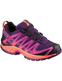 Salomon Enfants XA Pro 3D Chaussures de Course à Pied, Trail Running et Activités en Extérieur, Synthétique/Textile