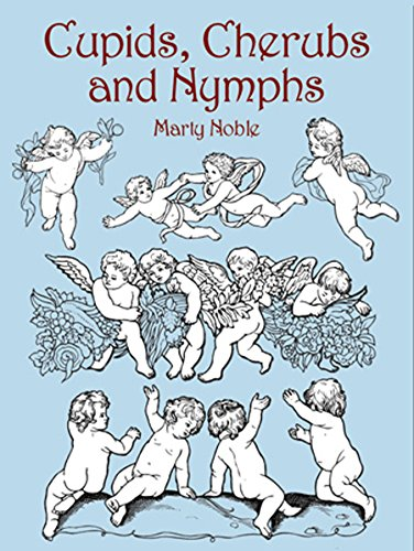 Cupids, Cherubs, and Nymphs (Dover Design Library) -