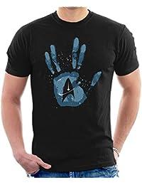 Cloud City 7 Star Trek Discovery Live Long And Prosper Men's T-Shirt