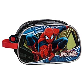Marvel Spiderman Neceser de Viaje, 4.99 Litros, Color Azul