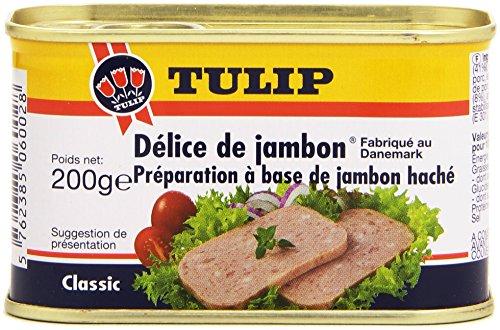 Tulip Délice de Jambon La Boîte 200 g - Lot de 6