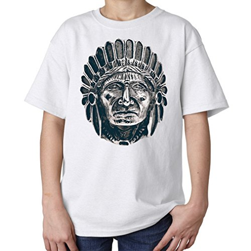 stone-carved-indian-chief-indian-tribal-photo-artwork-kids-unisex-t-shirt-xl-158-164-cm