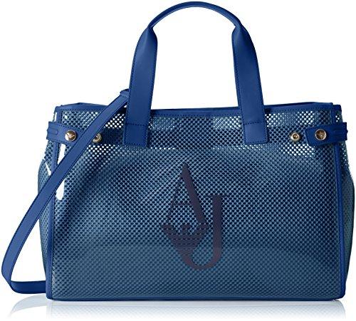 32138f35a7 Armani Jeans 9225917P780, Bolso Mujer, Azul (Ocean Blu 09934), 13x27x41 cm