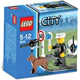Lego City Set #5612 Exclusive Mini Figure Police Officer
