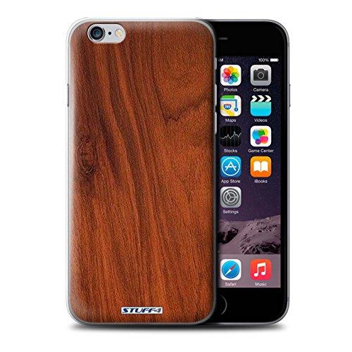 Stuff4 Hülle / Hülle für Apple iPhone 5C / Nussbaum Muster / Holz/Holzmaserung Muster Kollektion Mahagoni