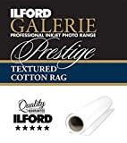 ILFORD GALERIE Prestige Textured Cotton Rag 310 GSM 36 Zoll - 91,4 cm x 15 m 1 Rolle