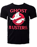 Ghostbusters Who Ya Gonna Call T Shirt (Black)