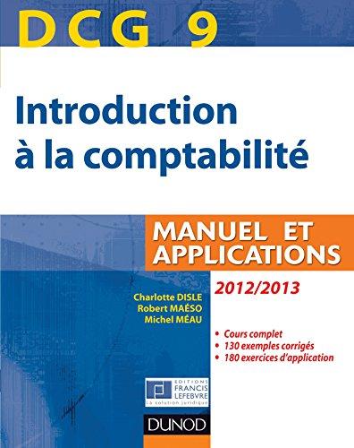 DCG 9 - Introduction à la comptabilité...