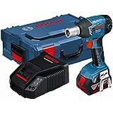 Bosch GDS18v 18v GDR 18VLI Cordless Impact Wrench 1 x 4.0ah Battery