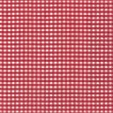 20 Cocktail Servietten Vichy red - Rot kariert 25 x 25cm