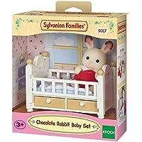 Sylvanian Families Chocolate Rabbit Baby Set Mini muñecas y Accesorios, (Epoch 5017)