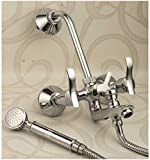 Oleanna A-11 Brass 3 In 1 Wall Mixer wit...