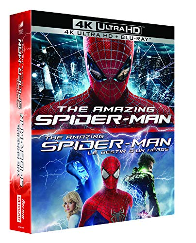 Coffret the amazing spider-man legacy 2 films : the amazing spider-man ; le destin d'un héros 4k ultra hd