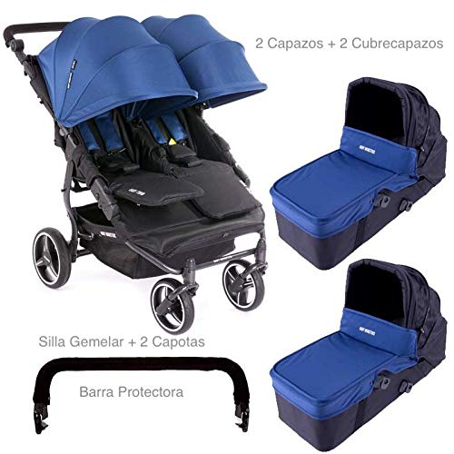 ca392849a ... Baby monsters-silla gemelar easy twin 3.0.s + 2 ca... Imagen para Amazon