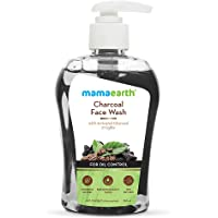 Mamaearth Charcoal Face Wash with Activated Charcoal & Coffee for Oil Control – 250ml