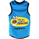 DogSpot Need a Poochie T-Shirt, Size-16