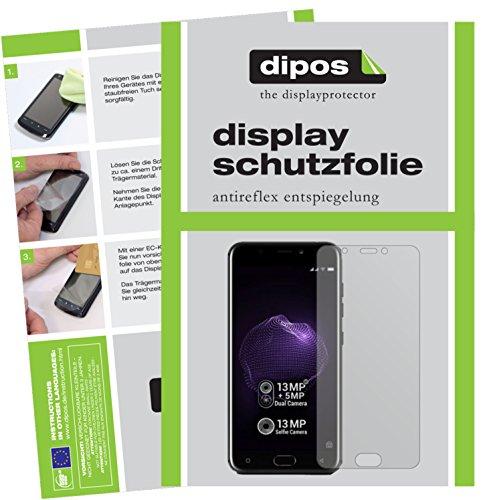 dipos I 6X Schutzfolie matt passend für Allview X4 Soul Folie Bildschirmschutzfolie