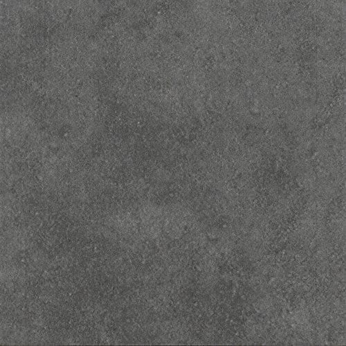 Zementfliesen Optik Gotik Grundfliese Dunkelgrau 22,3x22,3cm | Boden-Fliesen | Zement-Fliesen | Dekor | Fliesen-Bordüre | Ideal für den Wohnbereich (auch als Muster erhältlich) (Paket)