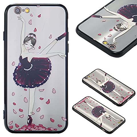 Apple iPhone 6/6S(4.7 Zoll) Case Cover, Ecoway Jupe princesse Série