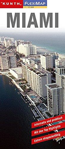 FlexiMap : Miami (KUNTH Flexi Map)